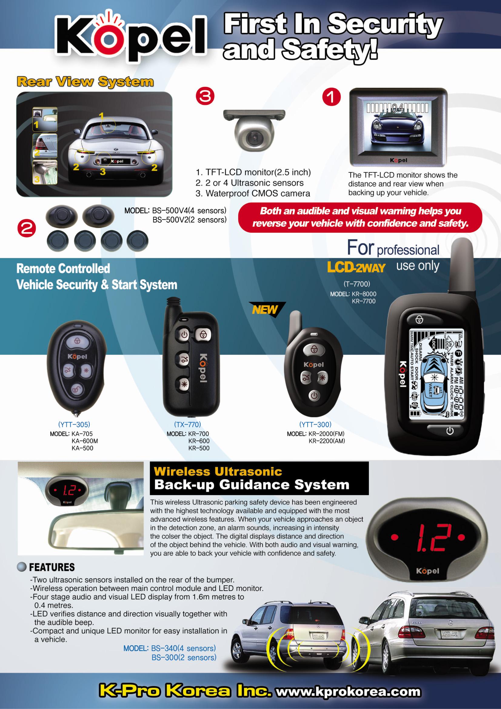 Car Security & Safety, Mobile DVR, Parking Detector ...